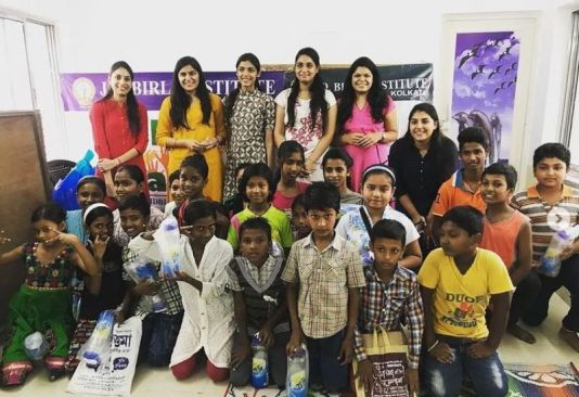 Chetna Sharma at a charity event