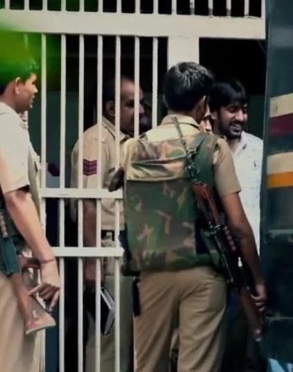 Neeraj Bawana inside the Tihar Jail