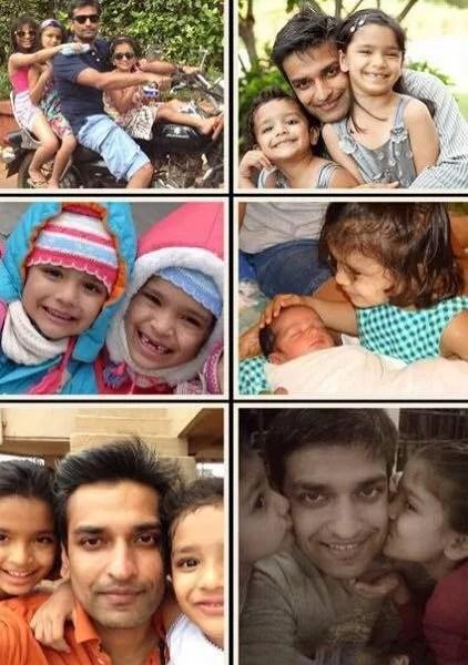 Ashrita Toshniwal's ex-husband and daughters