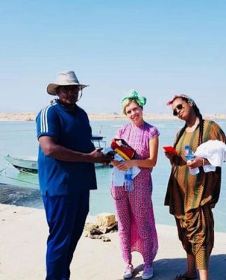 Carrie Symonds during her trip to Somaliland