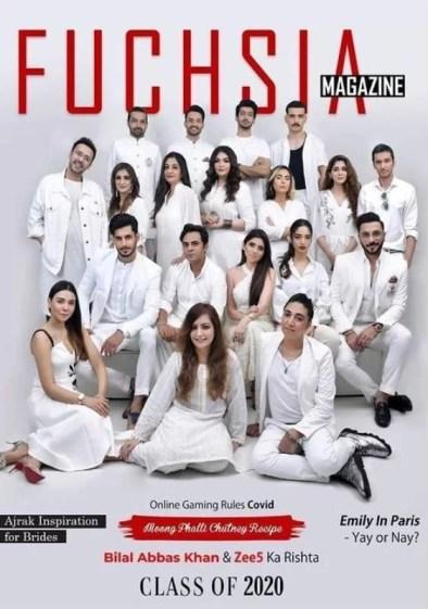 Azekah Daniel on the cover of FUCHSIA
