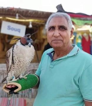 Shreyansh Pandey's father