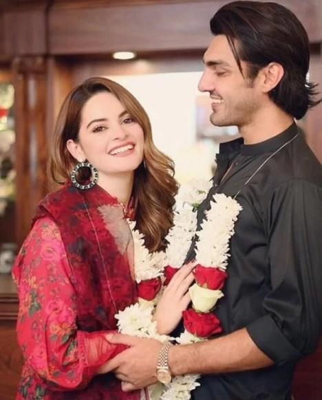 Minal Khan's engagement picture