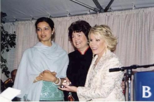 Barnard's Young Alumna Award to Lahiri in 2004