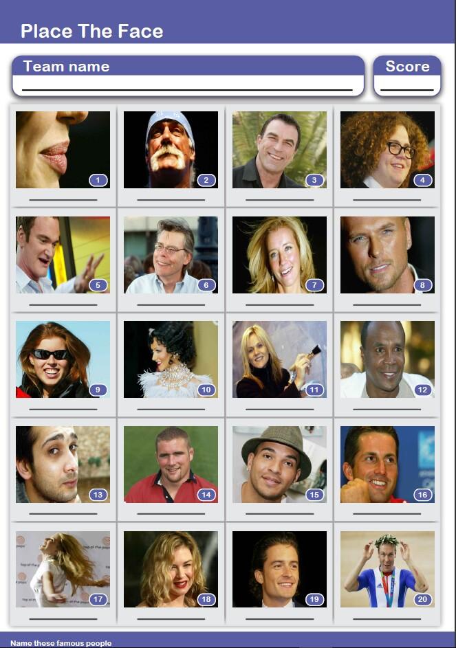 Free Picture Quiz – Pub Quiz Questions