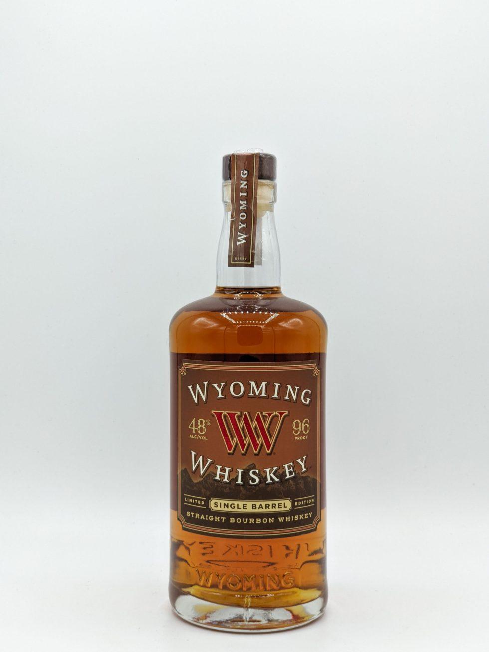 Wyoming Whiskey 750mL - J&J Spirit Shop