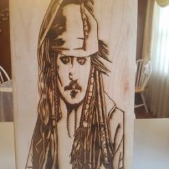 Jack Sparrow Pirates of the Caribbean Wall Hanging