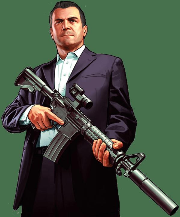 Michael Character Grand Theft Auto 5 Render png | freerenders