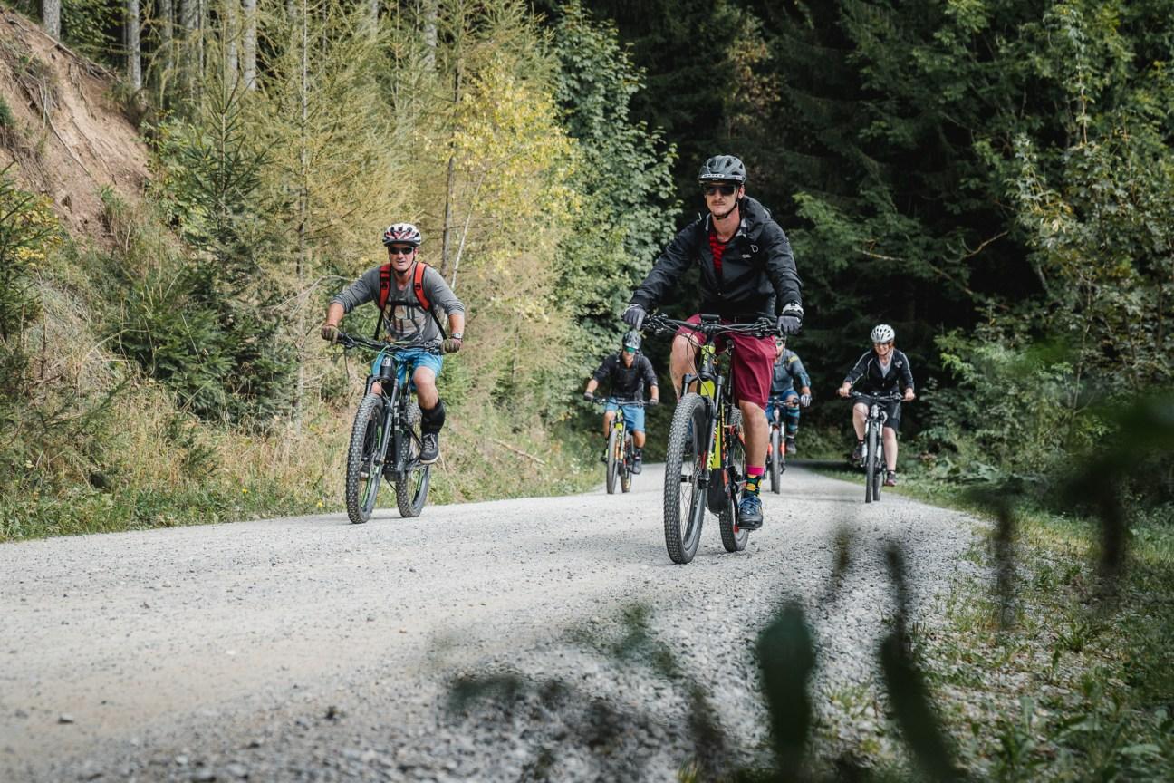 Gemeinsame E-Mountainbike Tour auf die Aflenzer Bürgeralm