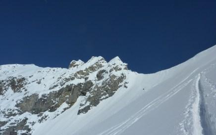 Kleiner Kaserer (3093m), Freeridetour durchs Wildlahnertal