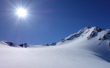 Östlicher Feuerstein ( 3268 m), Freeride Hochtour durchs Langetal