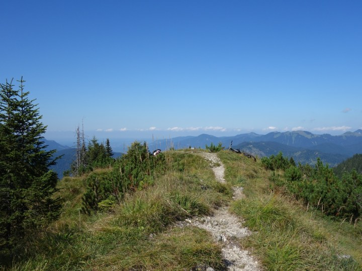Am Gipfel des Schürpfeneck...