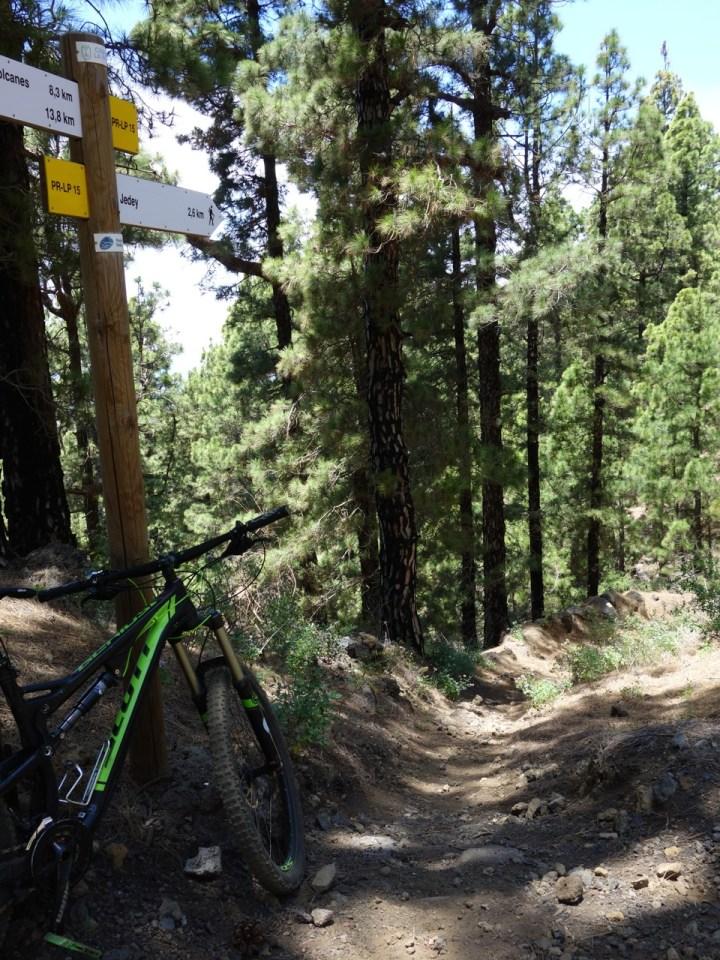 Der Mendo Trail ist ausgeschildert