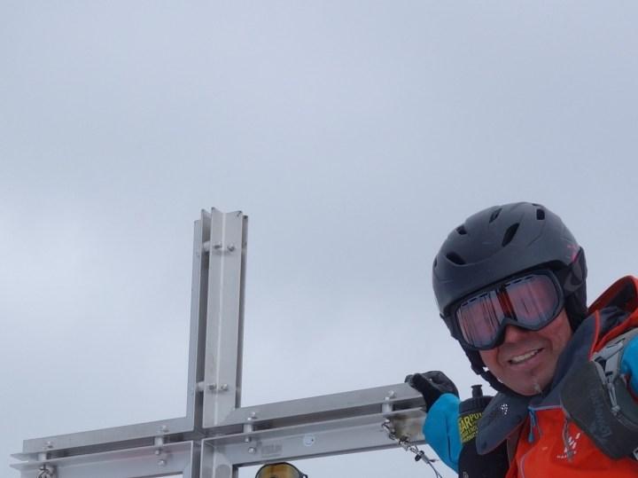 Den Sulzkogel Gipfel erreicht man am Besten im Stapf