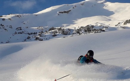 Pitzenegg Freeride Skitour