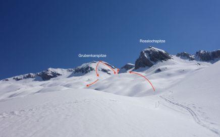 Grubenkarspitze, Bike & Ski Tour