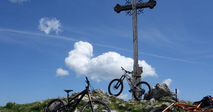 Bayrischzell, Gipfelbiken mit Flow
