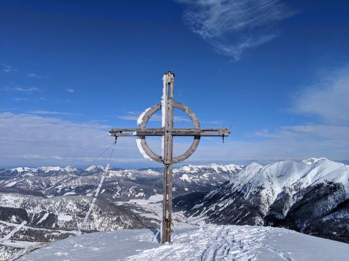 Der Gipfel lohnt nur wegen der Aussicht...