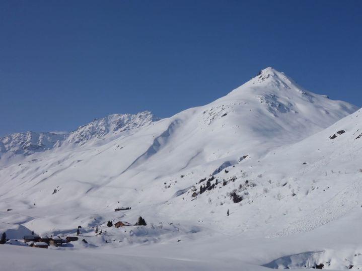 Aber auch nicht schlecht: die Osthänge des Sattelhorn