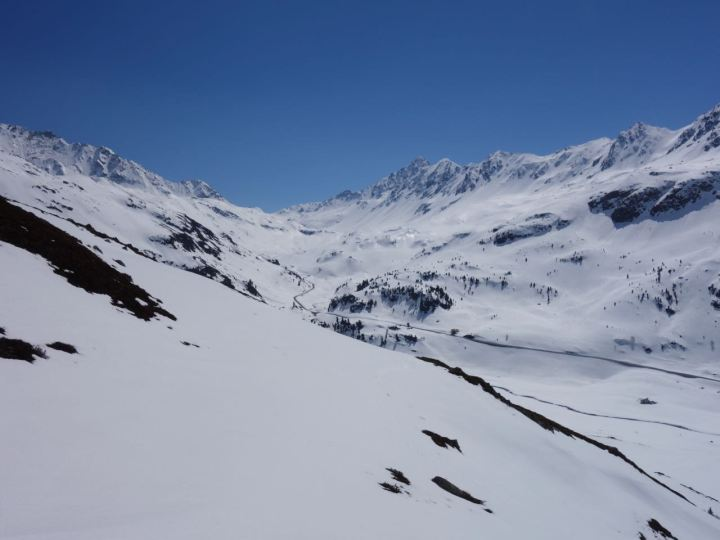 Beste Conditions am Flüela Pass, hammer geile Session