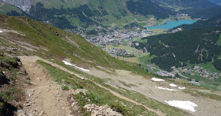Klosters/Davos, Bahnentour für Freerider