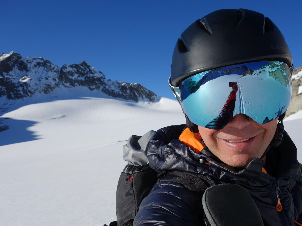 Rückblick Silvrettapass, Davos Klosters