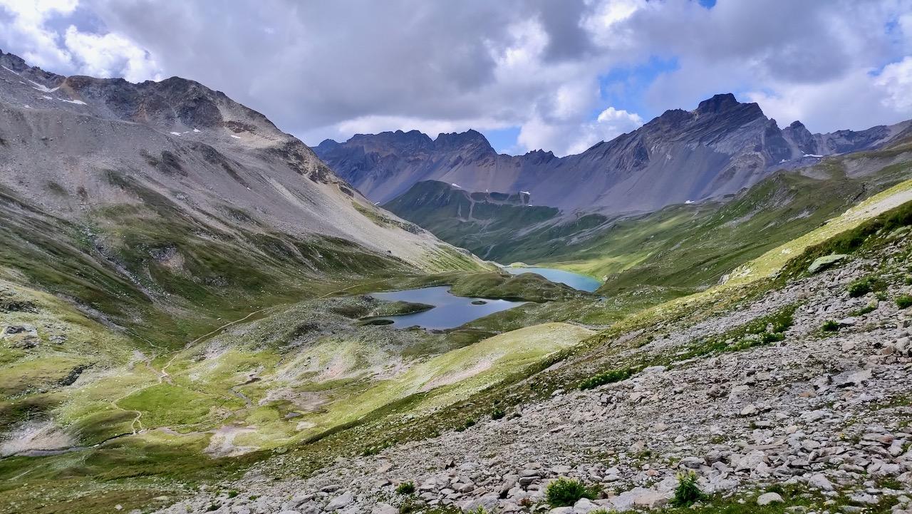 Traumhafte Landschaft, gigantische Täler