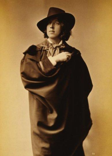 Oscar Wilde, 1882, Sarony, (from John Cooper's Oscar Wilde in America)