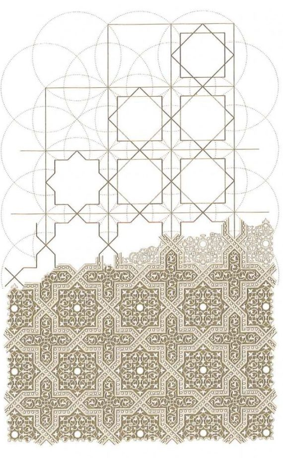Geometric patterns in Islamic manuscripts
