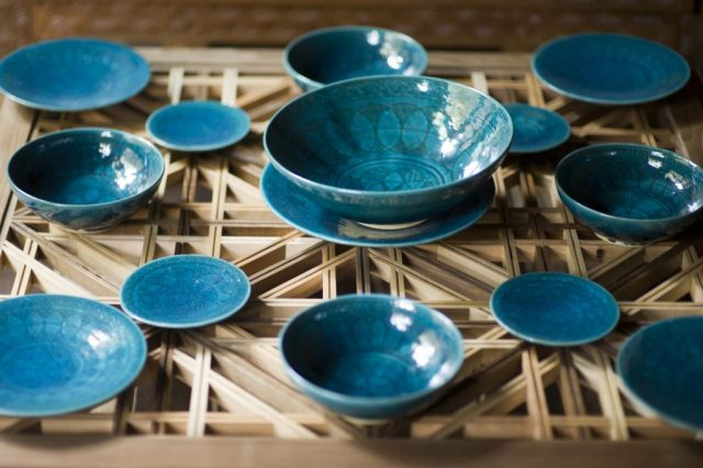 "See more of these blue-green bowls in ""Turquoise Mountain: Artists Transforming Afghanistan."""