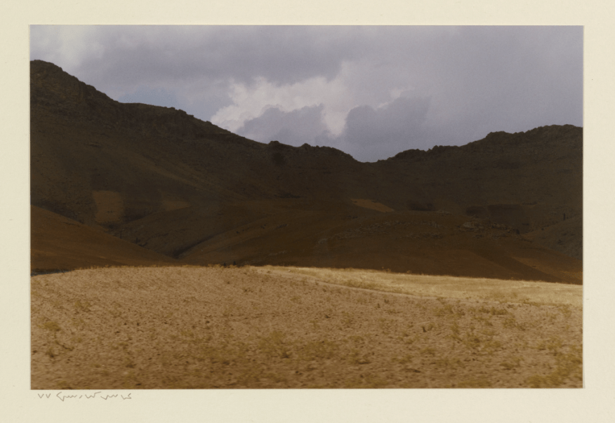Untitled; Abbas Kiarostami (1940–2016); Iran, 1998; color print; anonymous gift in memory of Philip L. Ravenhill, S1999.125