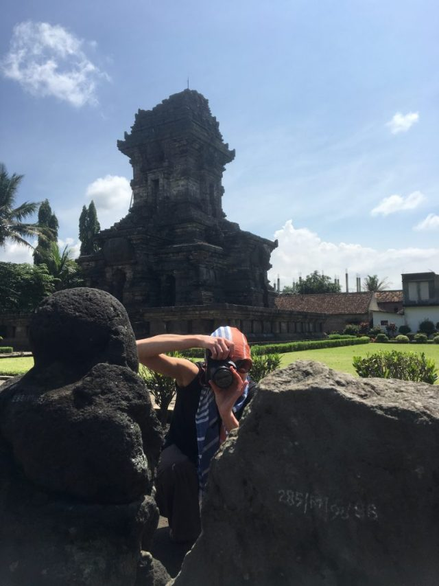 Emma at Candi Singosari