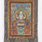 Shadakshari Avalokiteshvara, from a four-part set of thangkas Thangka