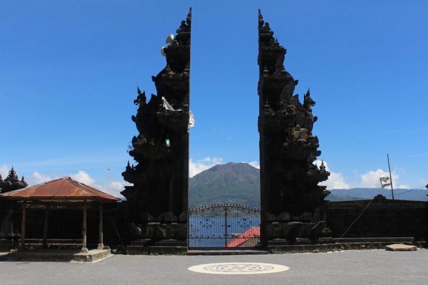 Volcano through a split-gate
