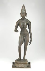 Bronze sculpture of Parvati