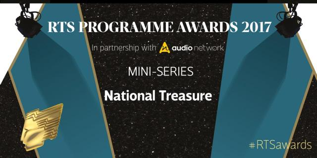 """""""National Treasure crowned at last night's RTS awards, UK"""