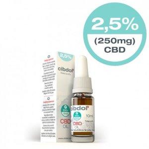 Cindol CBD olie 2,5% 10ml