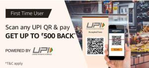 Amazon UPI Scan and Pay