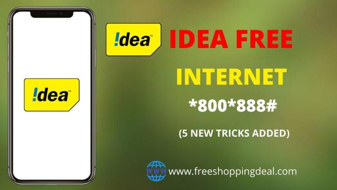 Idea Free Internet Working Tricks