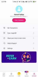 How to Refer and Earn on Magicpin 01