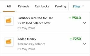Amazon Load Money Offer Proof
