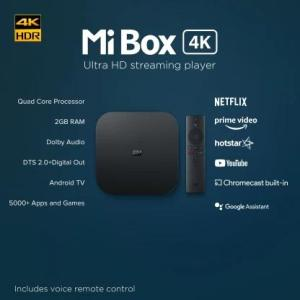 Mi Box 4k Launched in India