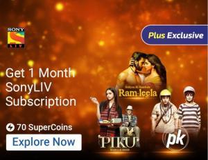Get 1 Month Free Sony LIV Premium Membership