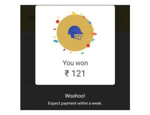 Google Pay Scratch Card Proof
