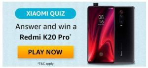 Amazon Xiaomi Quiz Answers