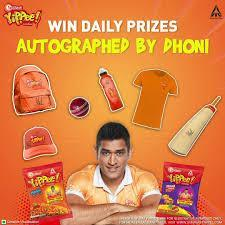 Sunfeast Yippee With Dhoni Contest
