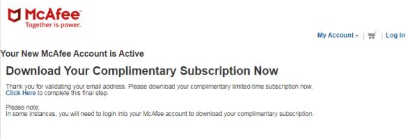 McAfee Internet Security Free 06