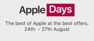 Tatacliq Apple Days Sale
