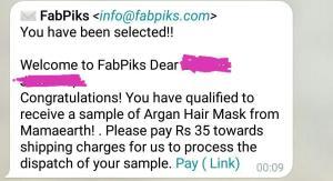 Fabpiks Free Sample 10