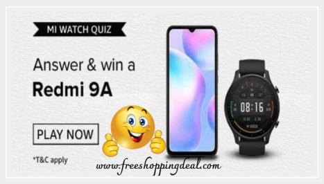 Mi Watch Quiz Answers